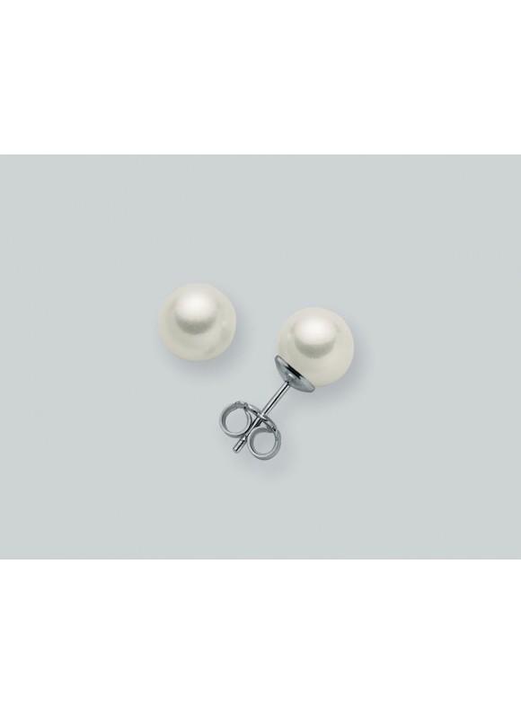 MILUNA náušnice perla PPN 657 BM
