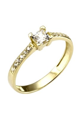 Zásnubné prstene 342, veľkosť 56