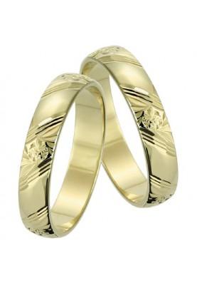 Zlaté svadobné obrúčky 119