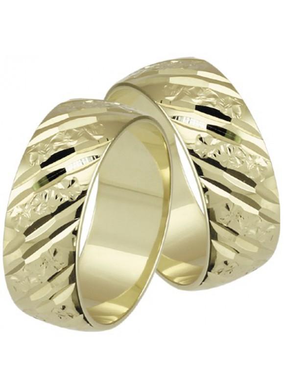 Zlaté svadobné obrúčky 121