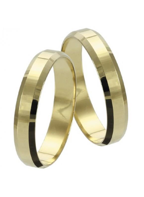 Zlaté svadobné obrúčky 018