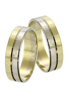 Zlaté svadobné obrúčky 091