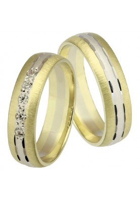 Zlaté svadobné obrúčky 205