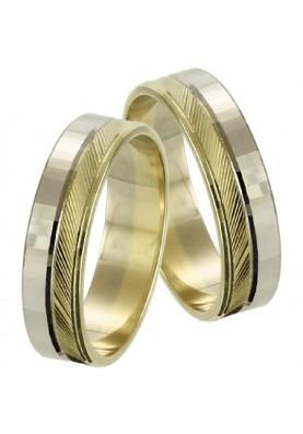 Zlaté svadobné obrúčky 222