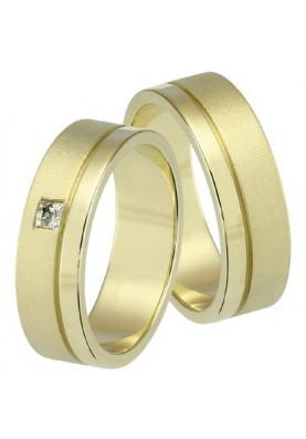 Zlaté svadobné obrúčky 240