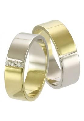 Zlaté svadobné obrúčky 242