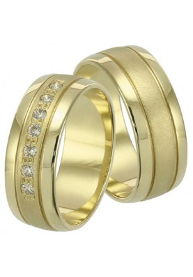 Zlaté svadobné obrúčky 243