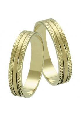 Zlaté svadobné obrúčky 001