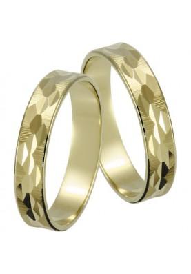 Zlaté svadobné obrúčky 012