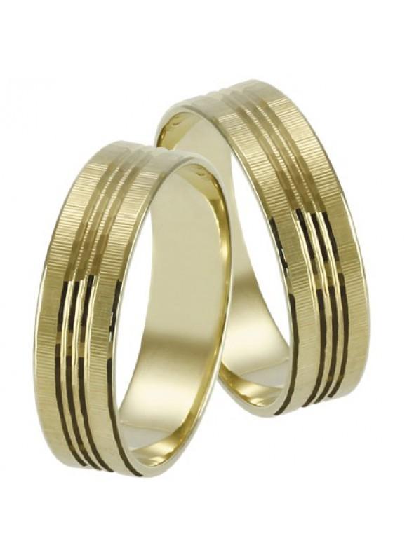 Zlaté svadobné obrúčky 066