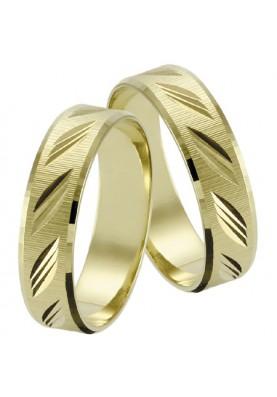Zlaté svadobné obrúčky 067