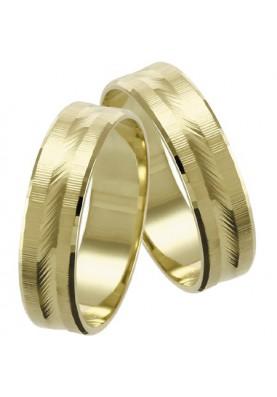Zlaté svadobné obrúčky 069