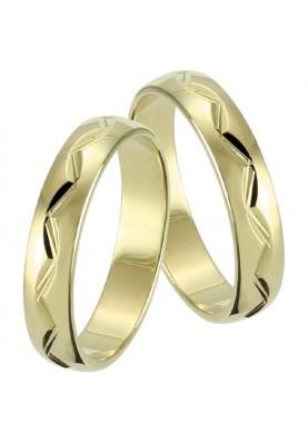 Zlaté svadobné obrúčky 120
