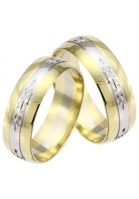 Zlaté svadobné obrúčky 376