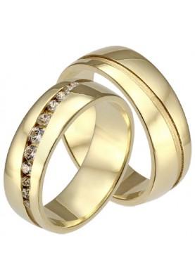 Zlaté svadobné obrúčky 468