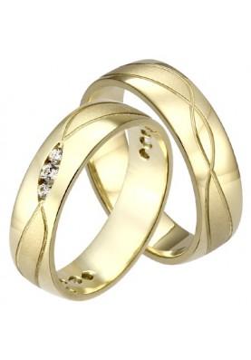 Zlaté svadobné obrúčky 440
