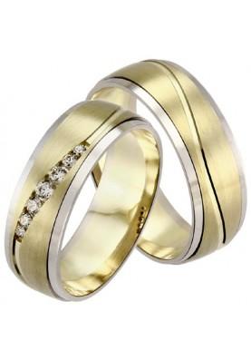 Zlaté svadobné obrúčky 437